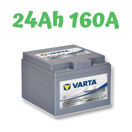 VARTA LAD 24 Professional Deep Cycle AGM 12V, 24Ah