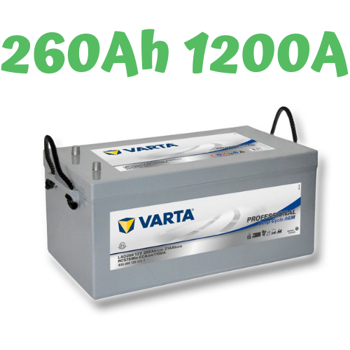 VARTA LAD 260 Professional Deep Cycle AGM 12V, 260Ah